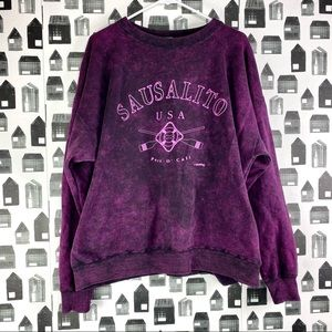 Yesterday's Sausalito, CA Vintage Tye Dye Pullover